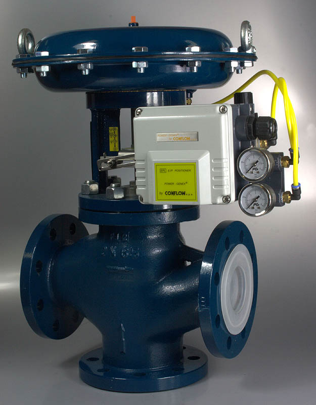 CONFLOW DIVERTING VALVE
