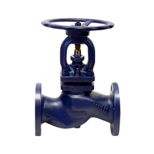 Ductile Iron Bellow Sealed Globe Valve – Flanged PN25