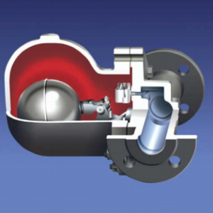 Model GTFH – High Capacity Float and Thermostatic Steam Trap – Flanged PN16