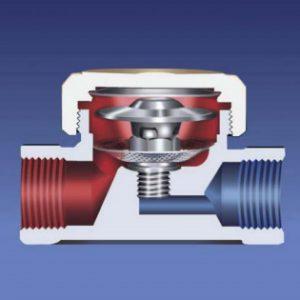STK61 – Brass Thermostatic Steam Trap – Screwed BSP